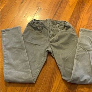 Gap Kids Girls Grey Glitter Pants